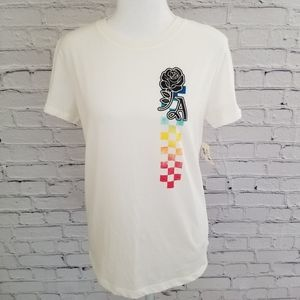 Free State LA off white short  sleeved tee shirt